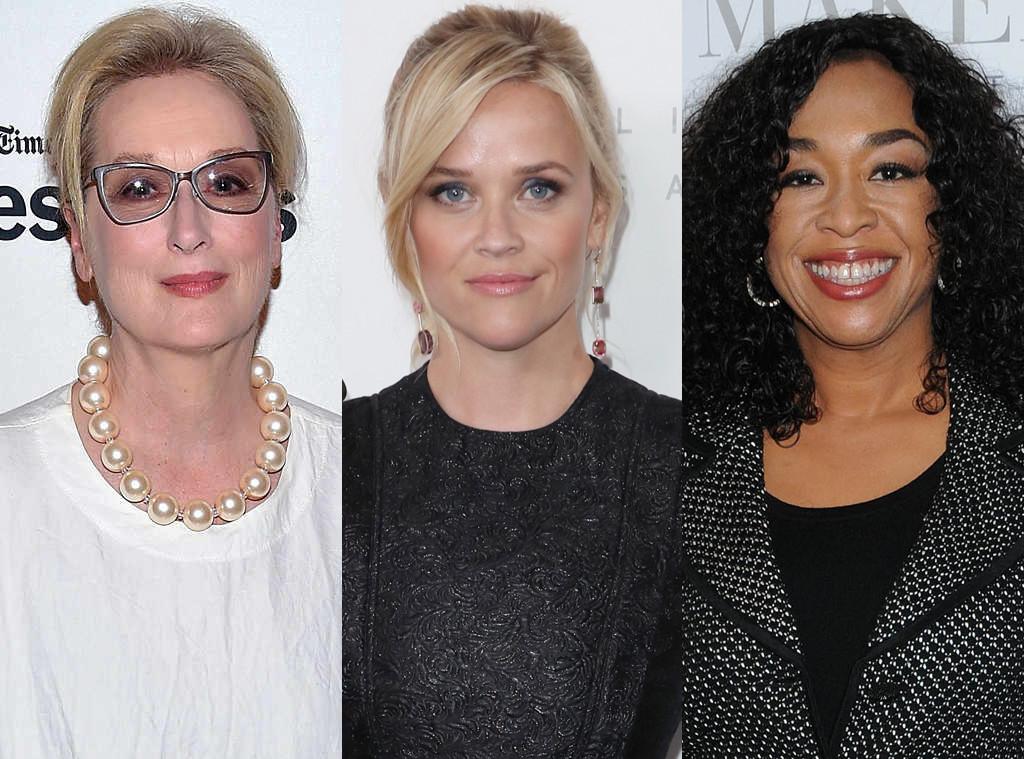Meryl Streep, Reese Witherspoon, Shonda Rhimes