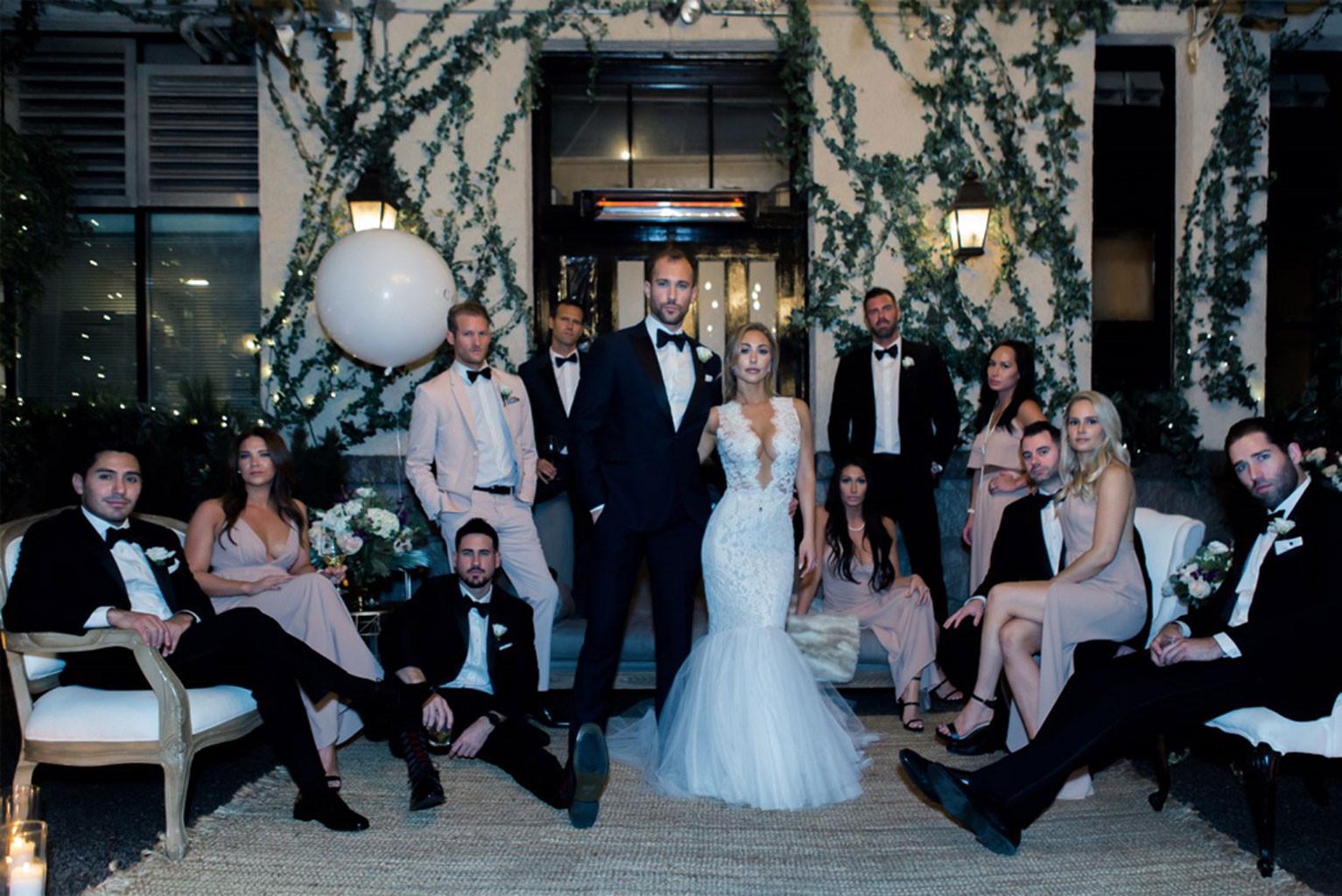 Marcus Grodd, Wedding