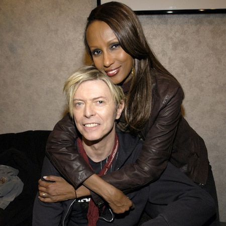 David Bowie's Widow Iman Reflects on Their ''Love Story ...