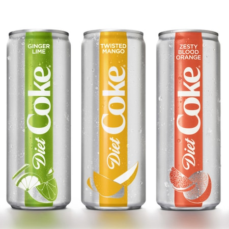 Diet Coke Is Getting A Makeover With 4 New Fruit Flavored