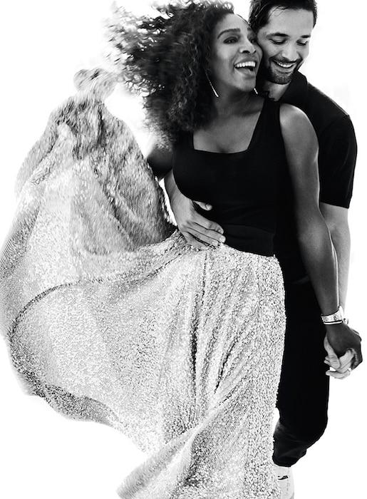 Serena Williams, Alexis Ohanian, Vogue