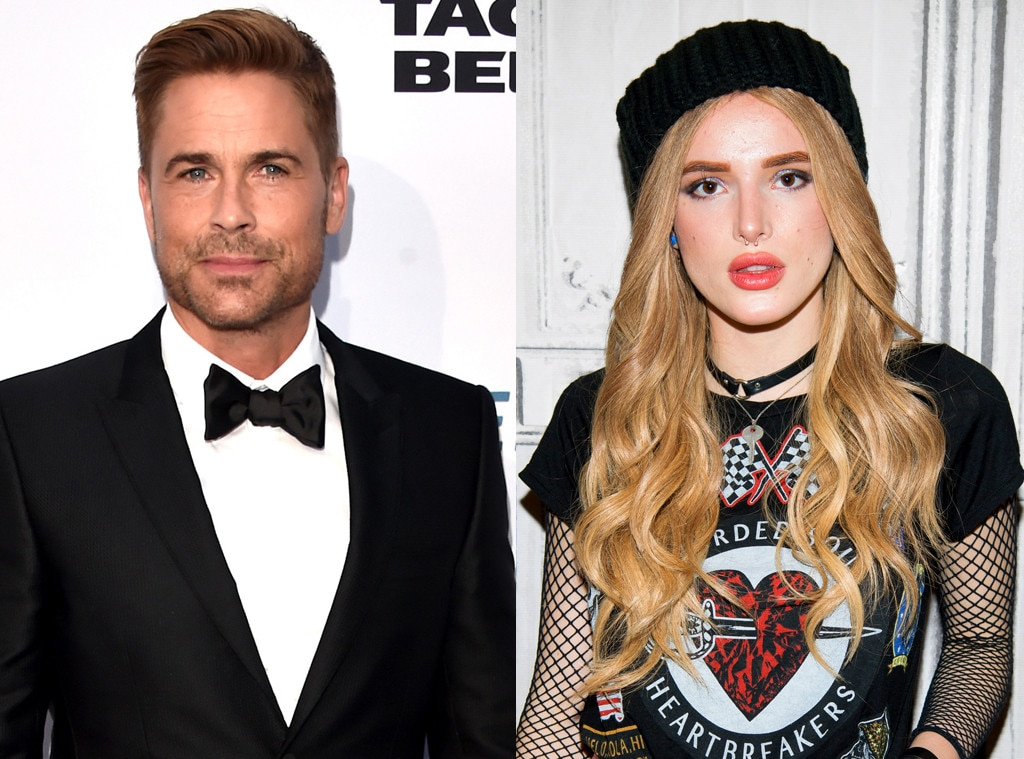 Rob Lowe Slams Bella Thorne For Her Tweets About California's Mudslides