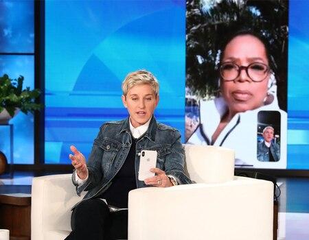 Ellen DeGeneres FaceTimes With Oprah Winfrey and Gets Emotional Discussing Montecito Disaster