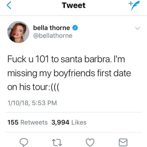 Bella Thorne comes forward with details of molestation