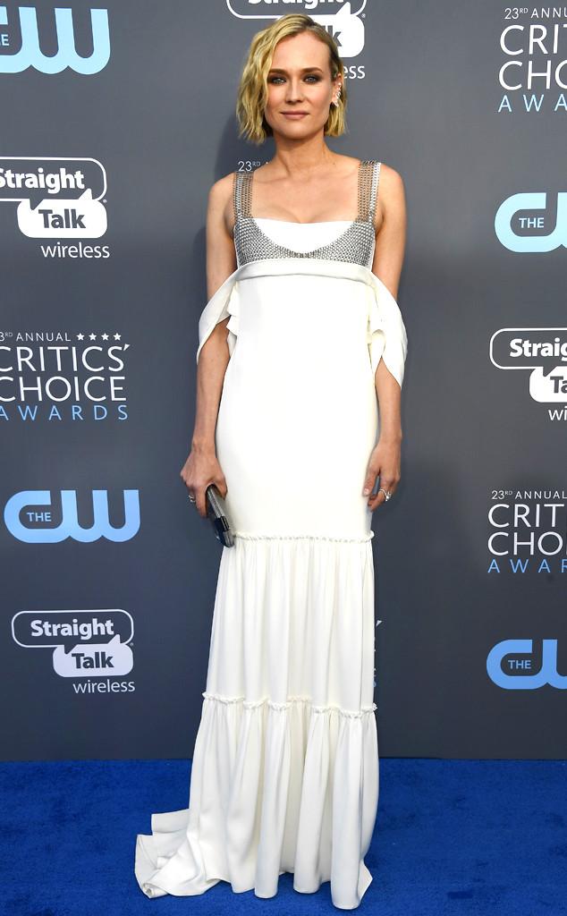 Diane Kruger, 2018 Critics Choice Awards