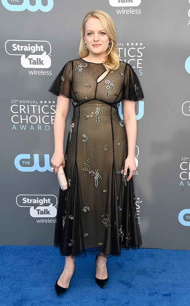 Elisabeth Moss, 2018 Critics' Choice Awards