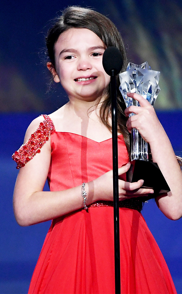 Brooklynn Prince, 2018 Critics' Choice Awards