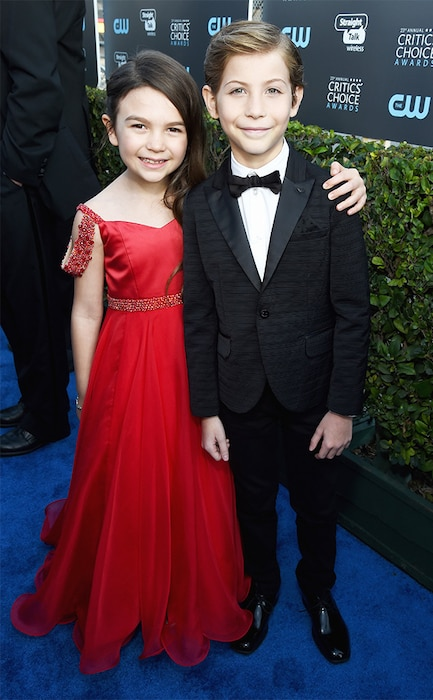 Brooklynn Prince, Jacob Tremblay, 2018 Critics' Choice Awards