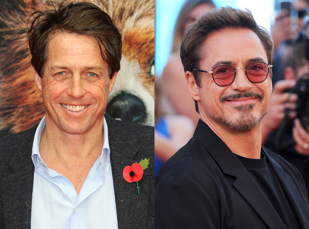 Hugh Grant, Robert Downey Jr.