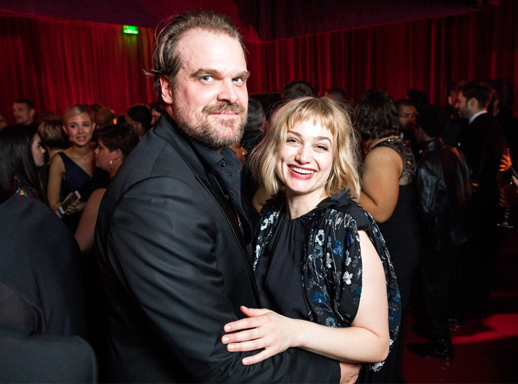 Is Stranger Things' David Harbour Dating Alison Sudol? Their PDA Says So