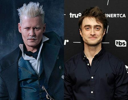 Daniel Radcliffe Talks Johnny Depp's Fantastic Beasts CastingDavid Yates - Famous Players - Fantastic - Grindelwald - Harry Potter - JK Rowling - Johnny Depp - National Football League - NFL - Warner Bros