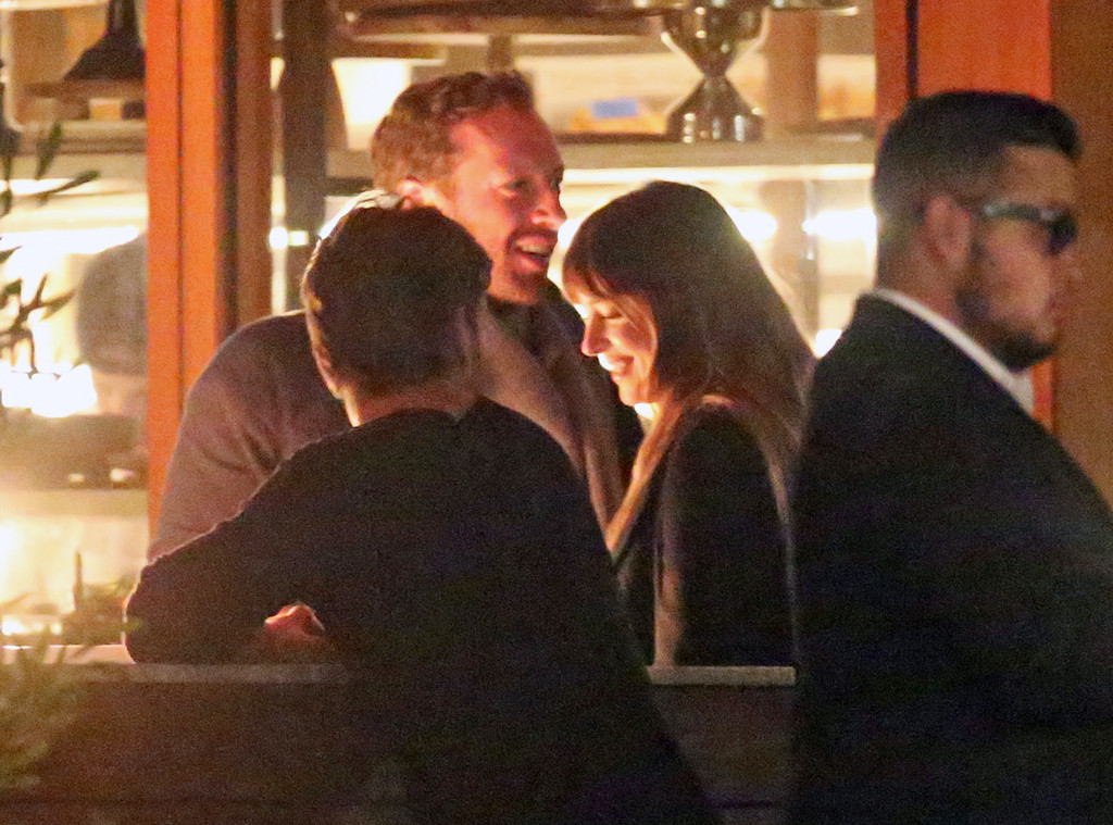Chris Martin and Dakota Johnson Hold Hands During Date ...