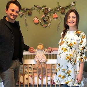 Evan Bass, Carly Waddell, Baby, Doll
