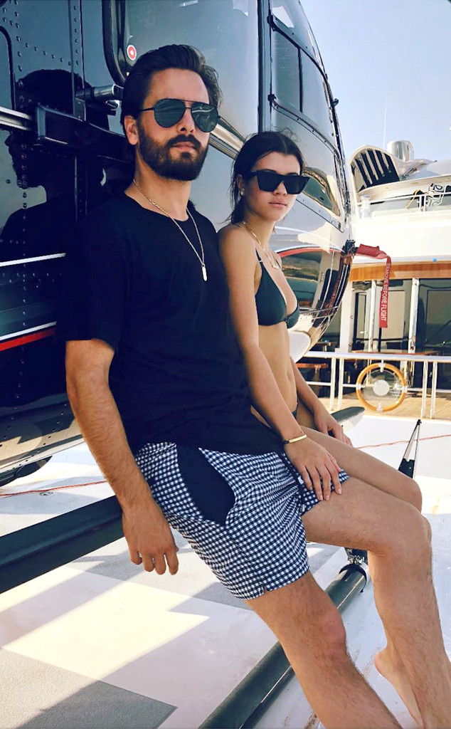 Scott Disick, Sofia Richie, Instagram, Mexico