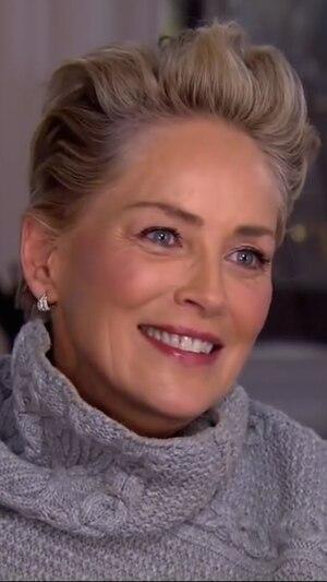 Sharon Stone, CBS Sunday Morning