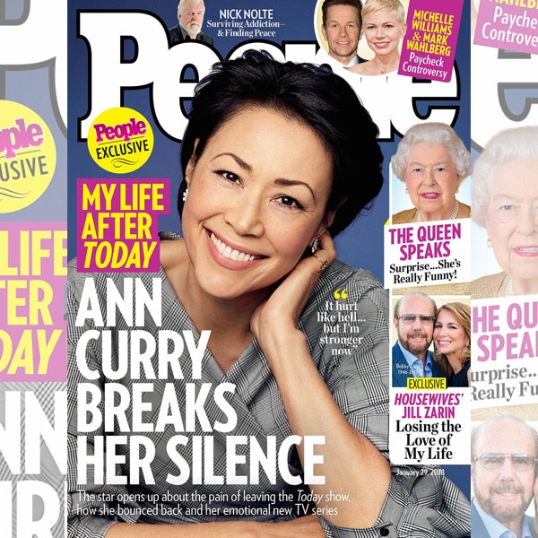 Ann Curry Says She's
