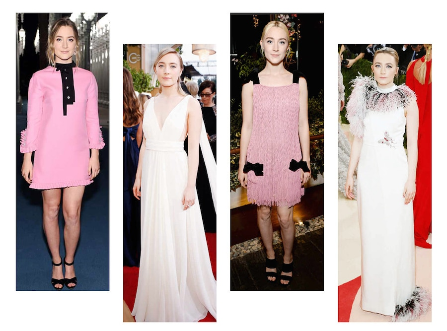 A Look Back At Saoirse Ronan's Best Red Carpet Looks