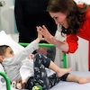 Kate Middleton Is a Comforting Mom During Children's Hospital Visit