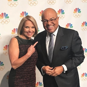 Katie Couric, Mike Tirico