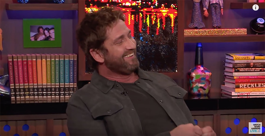 """Gerard Butler Reveals The """"Crazy"""" Hot–and Cold–Places He's Had Sex"""