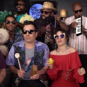 Camila Cabello, Jimmy Fallon, The Roots, The Tonight Show