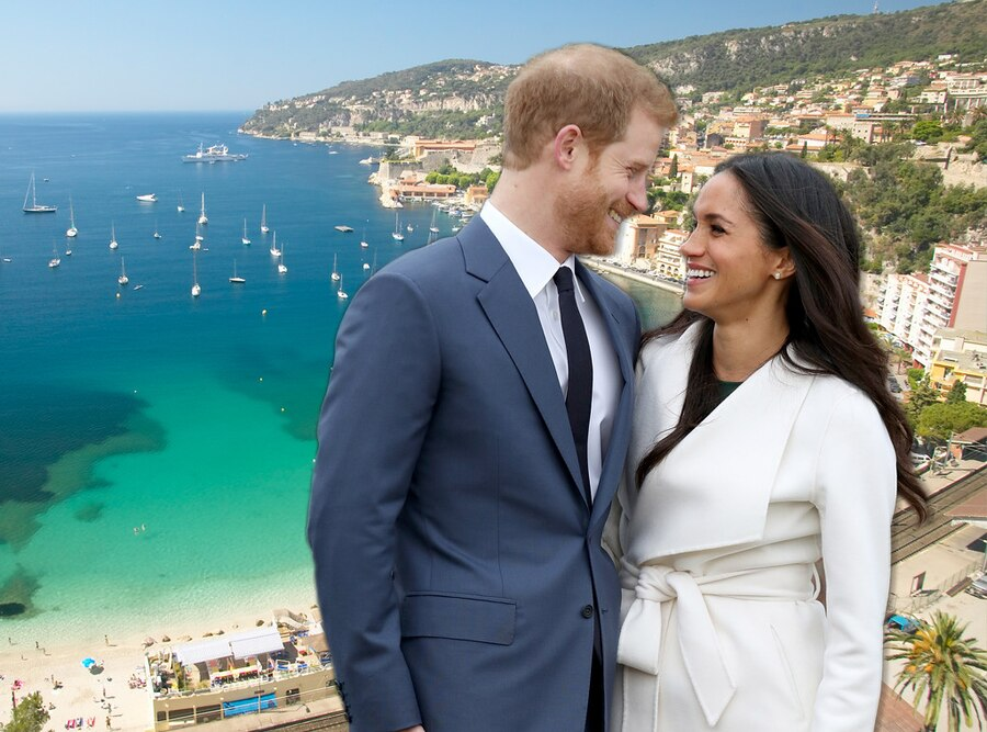 Prince Harry, Meghan Markle, French Riviera