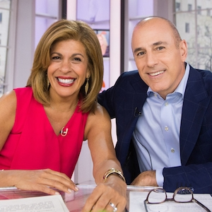 Hoda Kotb, Matt Lauer, Today