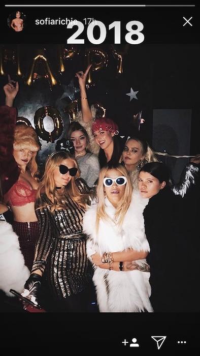 Scott Disick, Sofia Richie, Paris Hilton