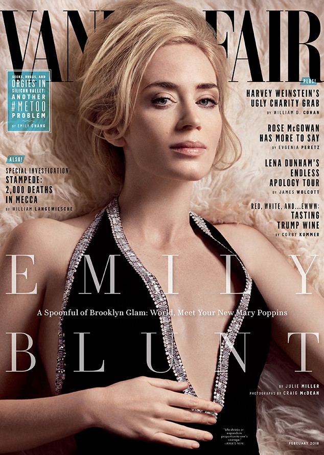 Emily Blunt, Vanity Fair