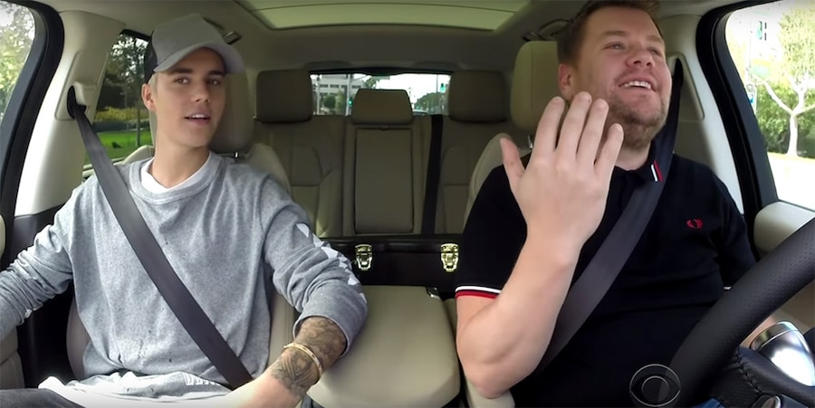 James Corden, Justin Bieber, Carpool Karaoke