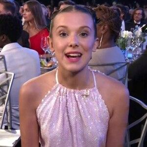 Millie Bobby Brown, SAG Awards, 2018