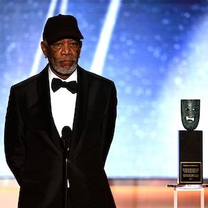 Morgan Freeman, SAG Awards, Winners, 2018, Lifetime Achievement Award
