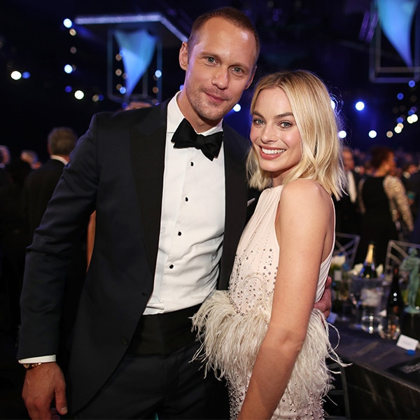 Alexander Skarsgard, Margot Robbie, 2018 SAG Awards