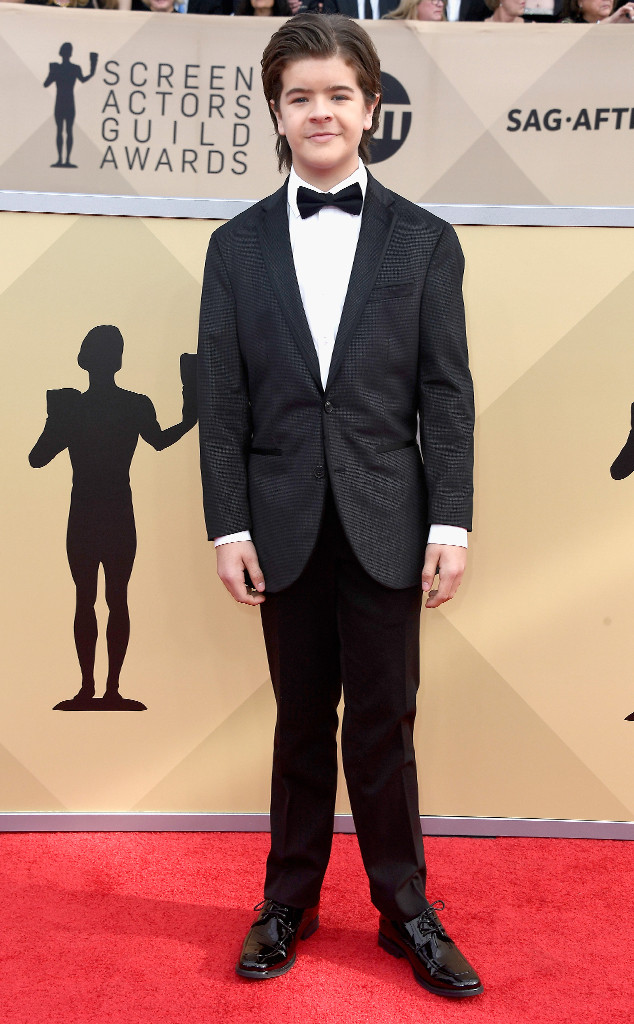 Gaten Matarazzo, 2018 SAG Awards, Red Carpet Fashions