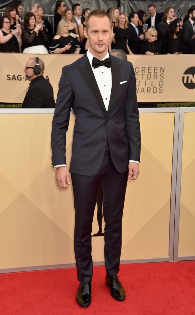 Alexander Skarsgard, 2018 SAG Awards, Red Carpet Fashions
