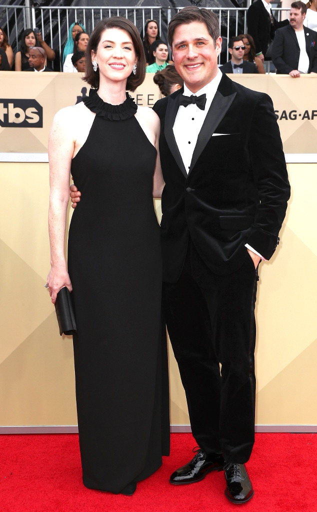 Rich Sommer, Virginia Donohoe, SAG Awards, Couples