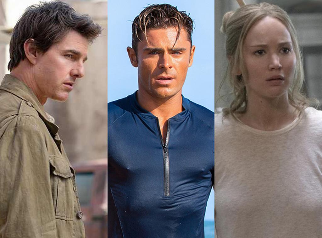 The Mummy, Tom Cruise, Jennifer Lawrence, Mother, Zac Efron, Baywatch, 2018 Razzies