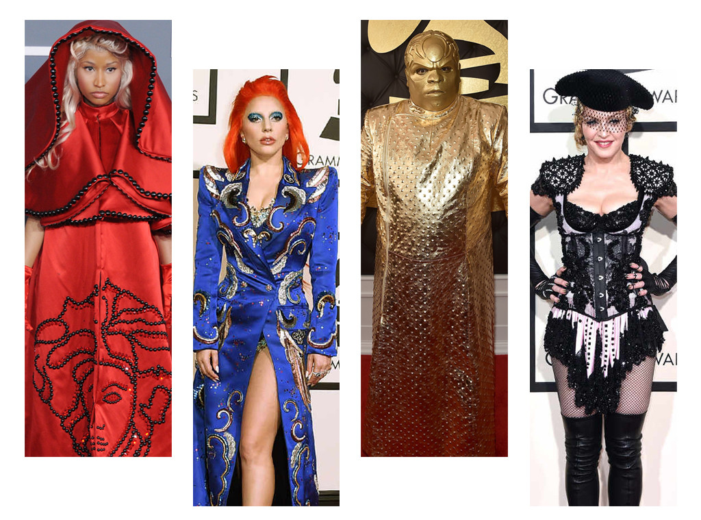 The Craziest Looks at the Grammy Awards of All Time