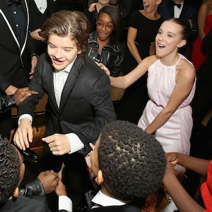 Marcus Scribner, Gaten Matarazzo, Marsai Martin, Millie Bobby Brown, SAG Awards, 2018, Party Pics
