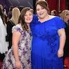 Mackenzie Hancsicsak, Chrissy Metz, 2018 SAG Awards