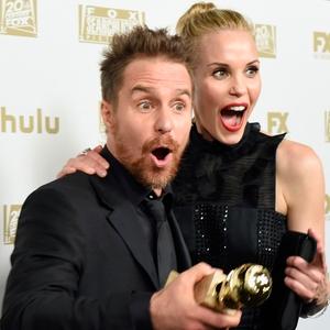 Sam Rockwell, Leslie Bibb, Golden Globe Awards, Golden Globes, 2018