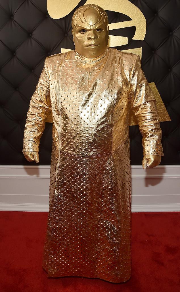 Singer Gnarly Davidson, Grammy Awards 2017