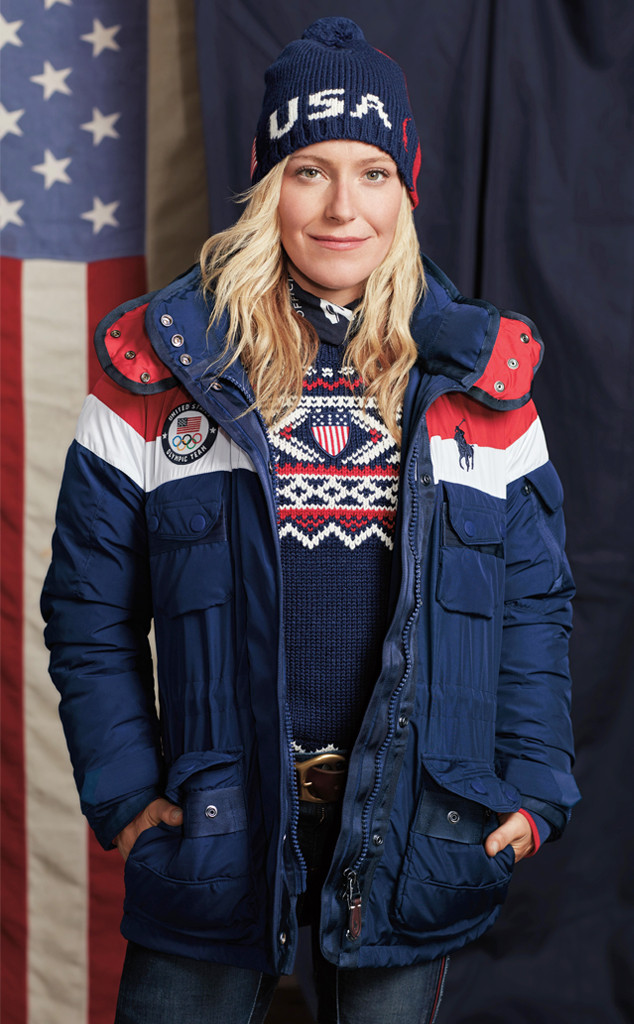 Team USA, 2018 Winter Olympics, Ralph Lauren, opening ceremony uniforms, Jamie Anderson