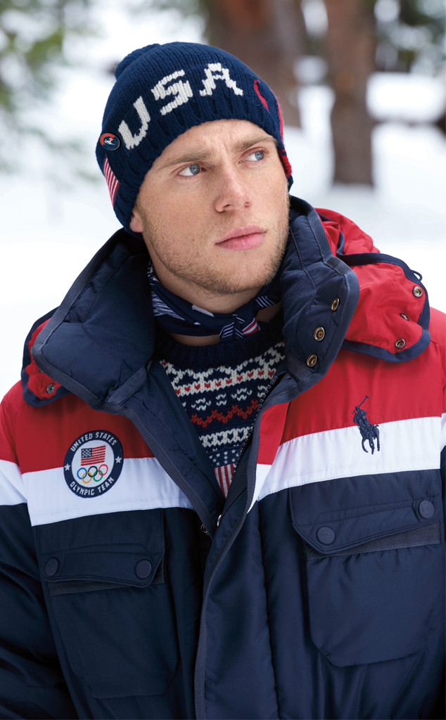 Team USA, 2018 Winter Olympics, Ralph Lauren, opening ceremony uniforms, Gus Kenworthy
