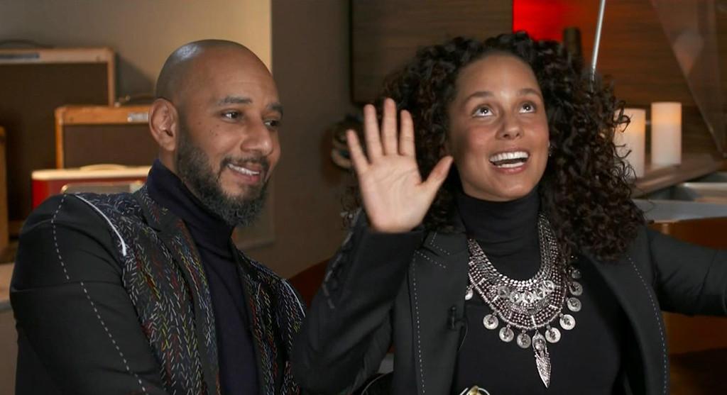 Alicia Keys, Swizz Beatz, CBS This Morning