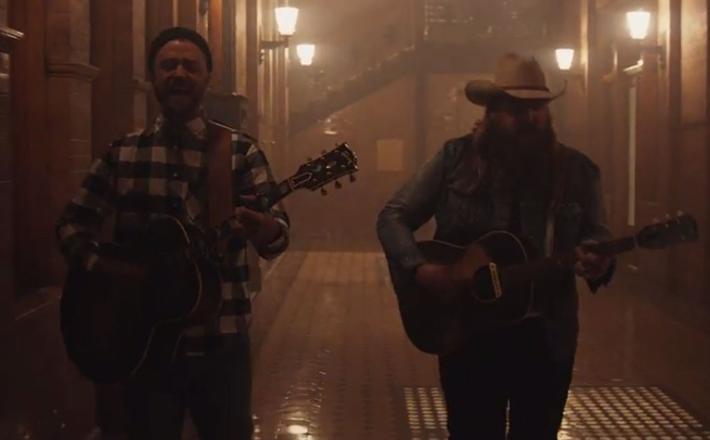 Justin Timberlake and Chris Stapleton premiere new song