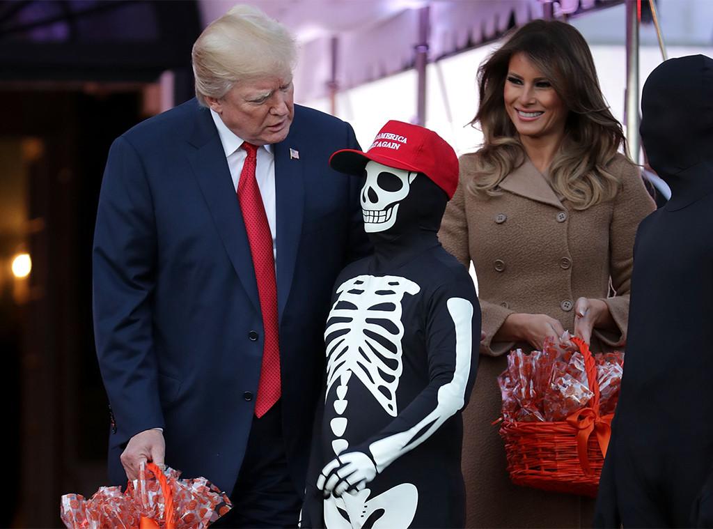 Donald Trump, Melania Trump, Halloween