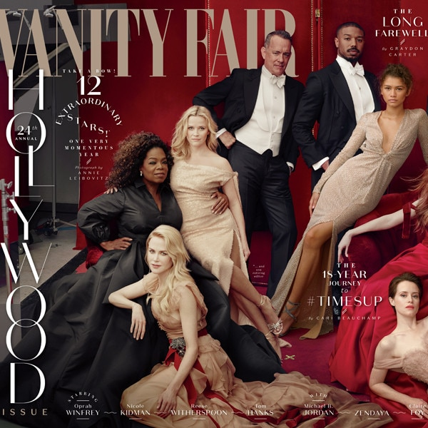 The iconic Vanity Fair Hollywood cover for 2018 is here