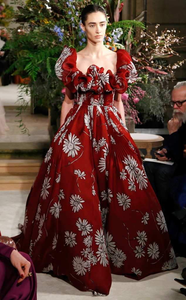 Valentino from paris haute couture fashion week spring for Hot couture fashion