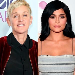 Ellen DeGeneres, Kylie Jenner